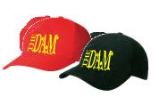 voorbeeld cap rood en zwart